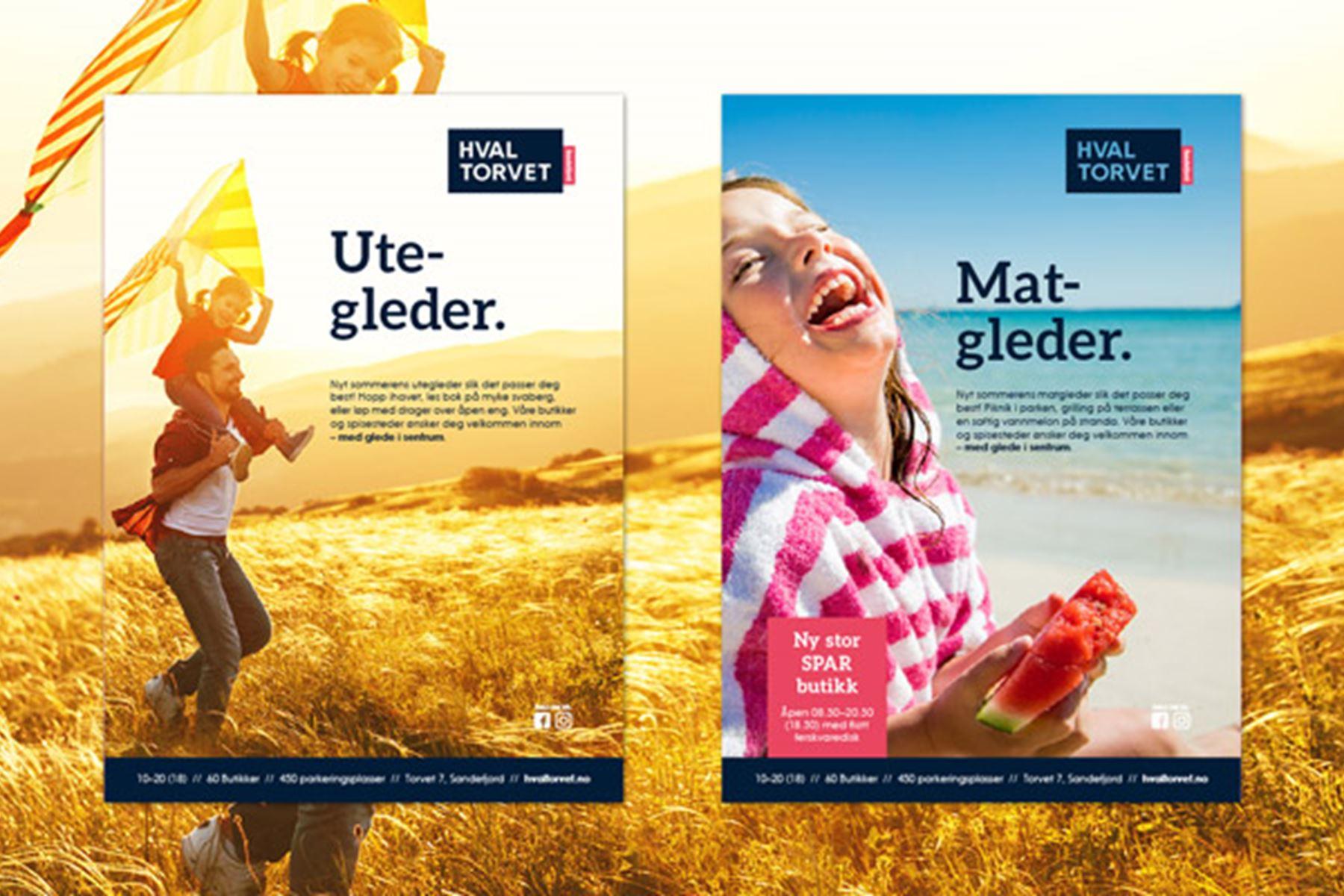Allegro har utviklet merkevare- og kommunikasjonsstrategi for Hvaltorvet kjøpesenter.